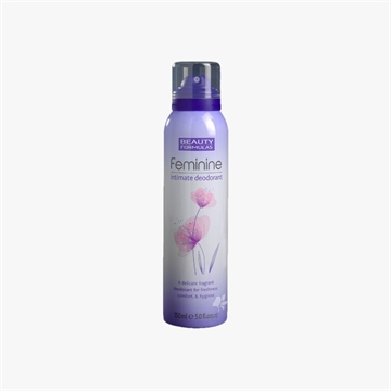 Beauty Formulas Feminine Initimate Deodorant 150ml