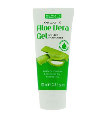 Beauty Formulas Organic Aloe Vera Gel 100ml