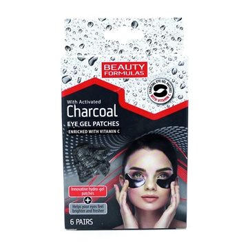 Beauty Formulas Charcoal Eye Gel Patches 6S
