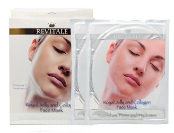 Revitale Face Mask Royal Jelly & Collagen 2'S