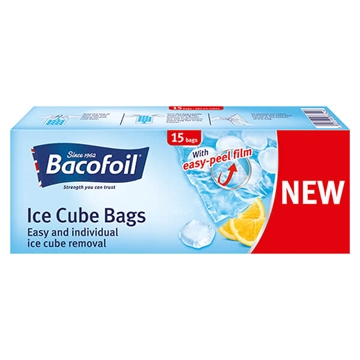 Bacofoil  Ice Cube Bags 19 Cubes 15'