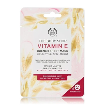 The Body Shop Sheet Mask 18ml Quench - Vitamin E Suitable For All Skin Types