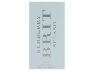 Burberry Brit Splash For Men EDT Spray 100ml