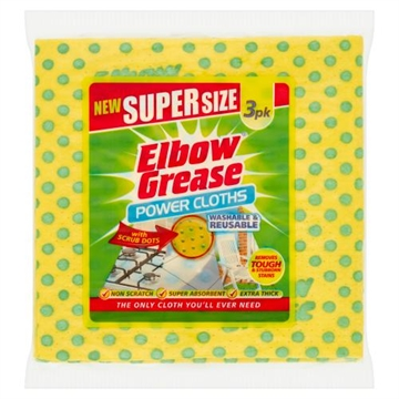 Elbow Grease Supersize Klud 3 stk.