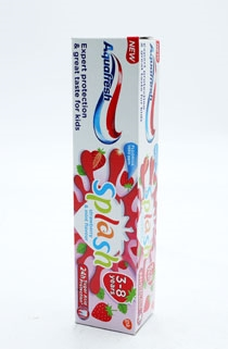 Aquafresh Toothpaste Splash Kids Strawberry 50ml