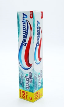 Aquafresh Toothpaste Active Fresh 125ml