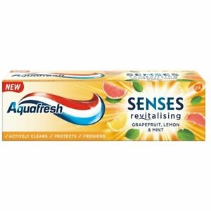 Aquafresh Senses Energise Lemon & Mint 75ml