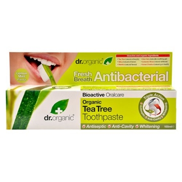 Dr. Organic, Tea Tree Toothpaste, 100 Ml.