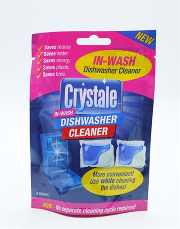 Crystale In Wash Dishwasher Cleaner Capsules 2'