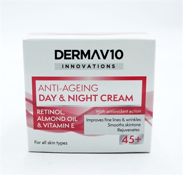 Derma V10 Innovation Day/Night Retinol 50ml