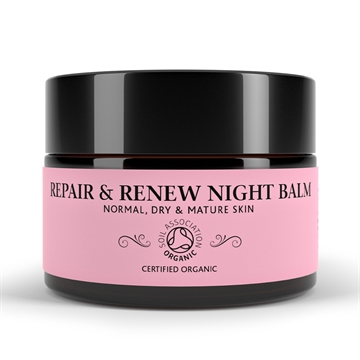 Botanicals Natural Organic Skincare Repair and Renew Night Balm 30g Normal, Dry and Mature Skin