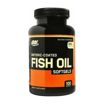 Optimum Nutrition Fischöl 100 Stück Fish Oil Softgels