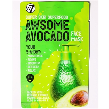 W7 Superfood Avocado Face Mask
