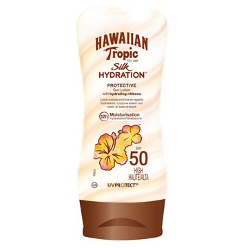 Hawaiian Tropic Silk Sun Lotion SPF50 180ml