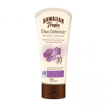 Hawaiian Tropic Duo Defense Sun Lotion SPF30 180ml
