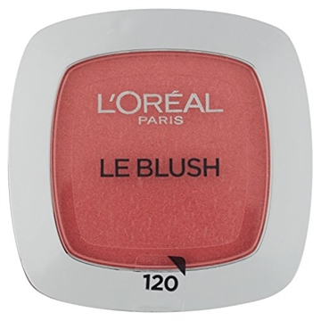 L'Oréal Paris True Match Le Blush – 120 Rose Santal – Roze – Natuurlijk Ogende Blush – 5,0 gr. rouge Nøgen 12 Pulver
