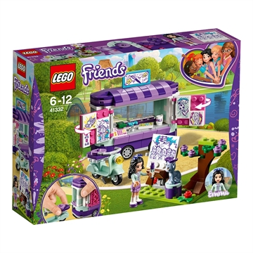 LEGO FRIENDS Emmas kunstbod 41332