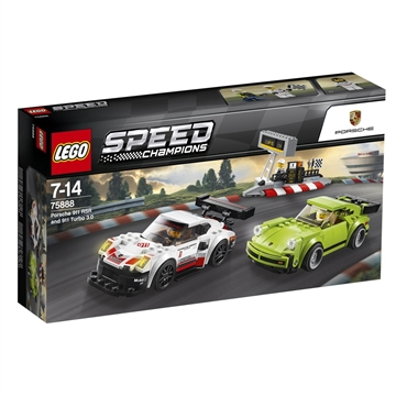 LEGO Speed Champions Porsche 911 RSR og 911 Turbo 3.0 - 75888
