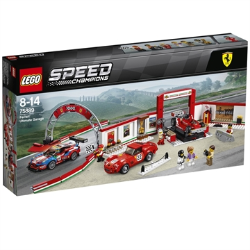 LEGO Speed Champions Ultimativt Ferrari-værksted 75889