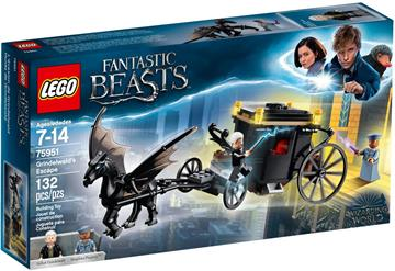 LEGO Harry Potter Fantastic Beasts Grindelwald´s Escape 75951