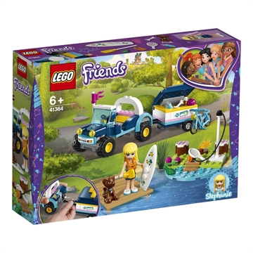 LEGO Friends Stephanies buggy og trailer 41364