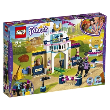 LEGO Friends Stephanies ridespringningsbane 41367