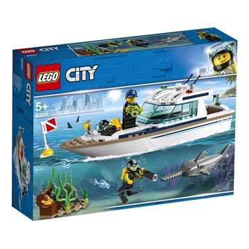 LEGO City Great Vehicles Dykker-yacht 60221