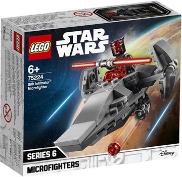 LEGO Star Wars Sith InfiltratorTM Microfighter 75224