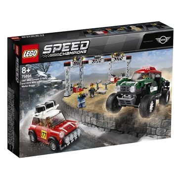 LEGO Speed Champions 1967 Mini Cooper S Rally og 2018 MINI John Cooper Works Buggy 75894