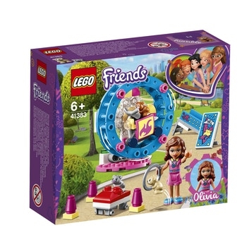 LEGO Friends Olivias hamsterlegeplads 41383