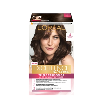 L'ORÉAL  Excellence 4 Brown 4 192ML