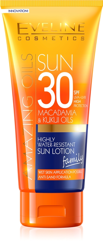 Eveline Amazing Oils Highly Water-Resist.Sun Lotion SPF30 200ml