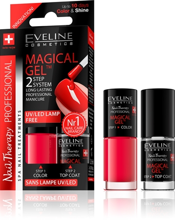 Eveline Spa Nail Therapy Magical Gel 2X5ml No 7