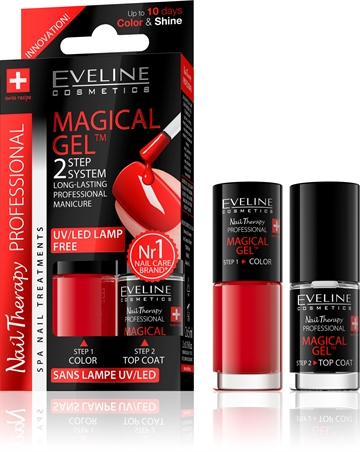 Eveline Spa Nail Therapy Magical Gel 2X5ml No 1