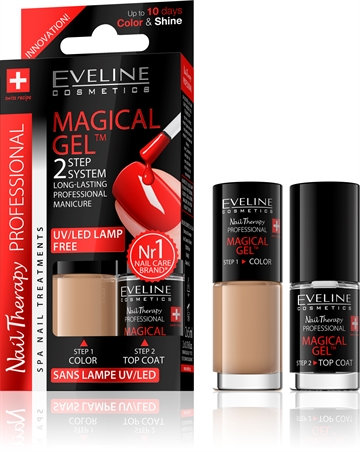 Eveline Spa Nail Therapy Magical Gel 2X5ml No 2