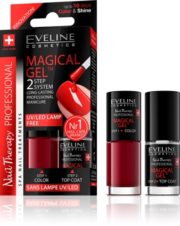 Eveline Spa Nail Therapy Magical Gel 2X5ml No 4