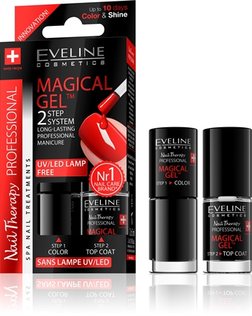 Eveline Spa Nail Therapy Magical Gel 2X5ml No 5