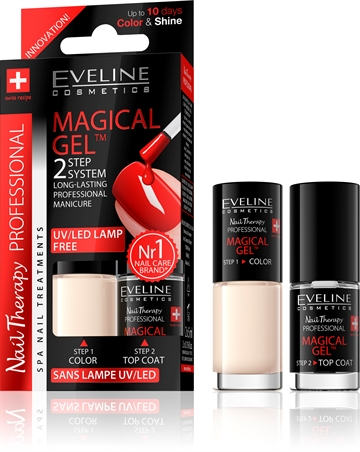 Eveline Spa Nail Therapy Magical Gel 2X5ml No 8