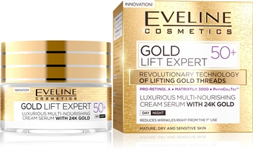 Eveline Gold Lift Expert Day And Night Cream 50+ 50ml
