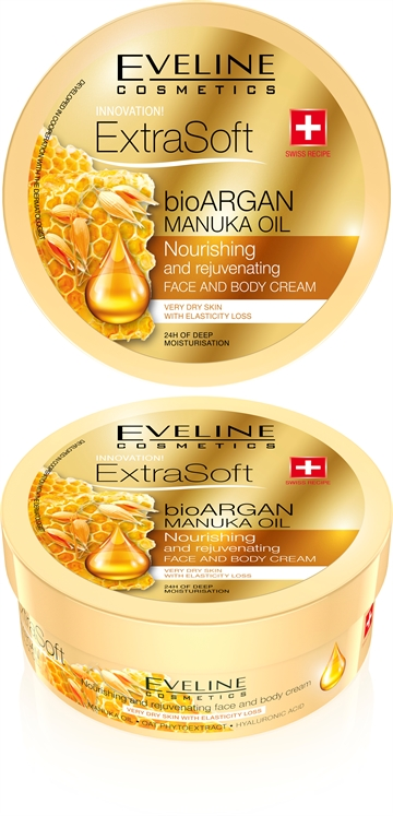 Eveline Soft Bioargan Manuka Oil Face&Body Cream 175ml