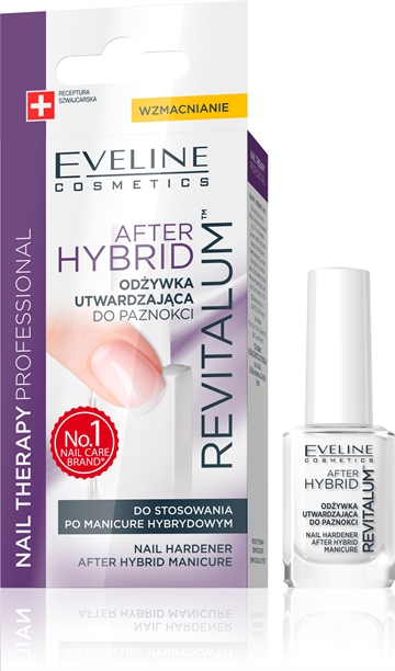 Eveline Nail Therapy After Hybrid Reconstructing Therapy For Damaged Nails 12ml
