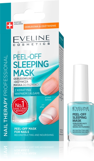 Eveline Nail Therapy Professional Peel-Off Sleeping Mask For Nails 12ml