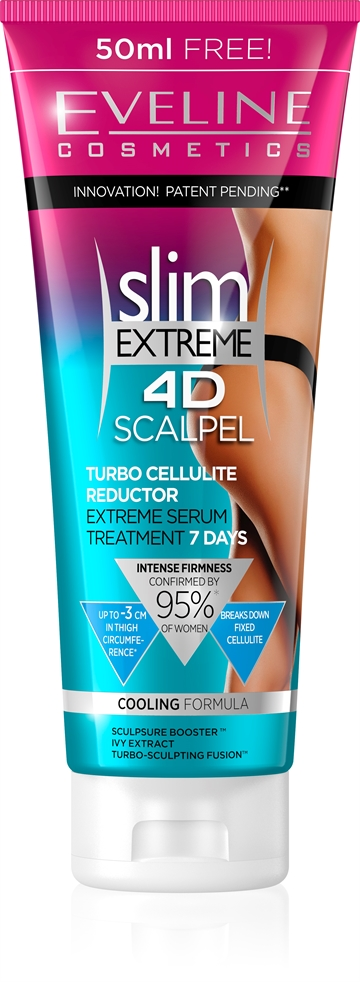 Eveline Slim Extreme 4D Scalpel Turbo Cellulite Reductor 250ml