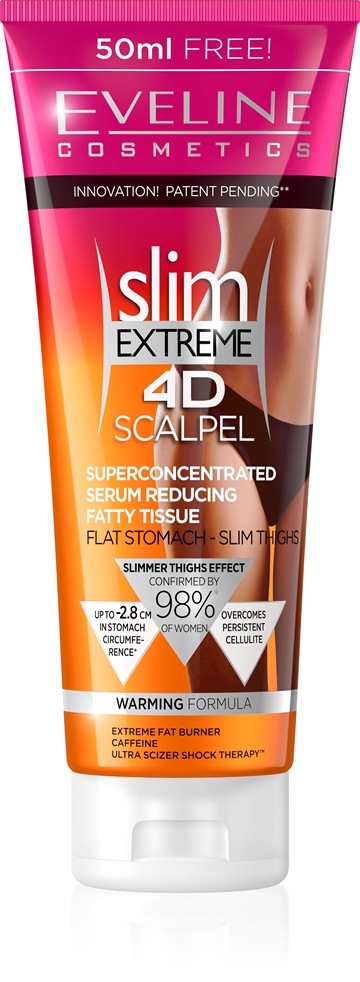Eveline Slim Extreme 4D Scalpel Superconcentrated Serum Reducing Fatty Tissue 250ml