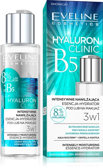 Eveline Hyaluron Clinic Essence-Hydrator 3In1 110ml