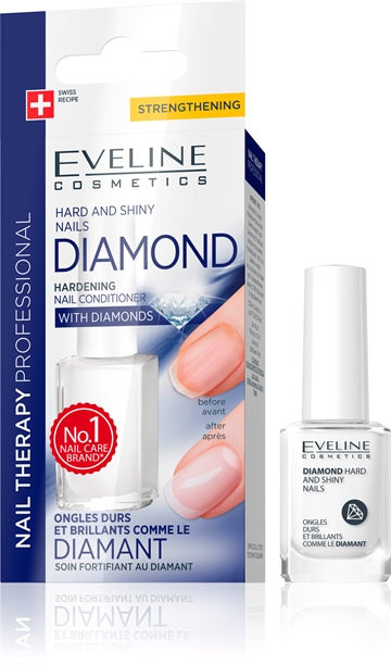 Eveline Nail Therapy Professional Diamond Hard And Shiny Nails 12ml