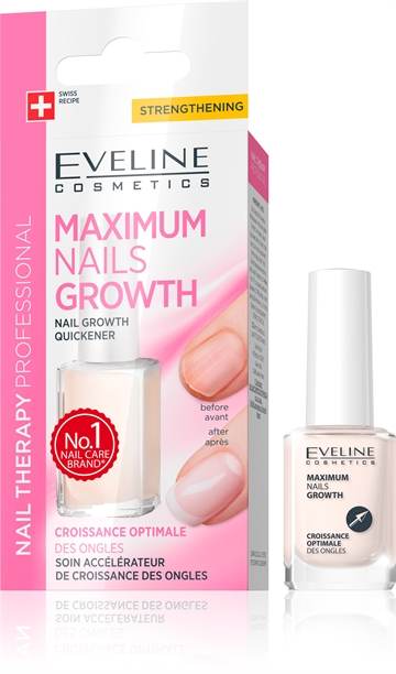Eveline Nail Therapy Professional Maximum Nails Growth 12ml