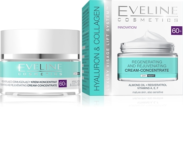 Eveline Hyaluron&Collagen Day And Night Cream 60+ 50ml