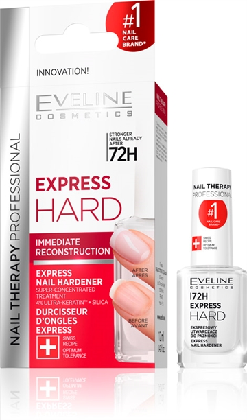 Eveline Nail Therapy Professional Express Hard Immediate Reconstruction 12ml