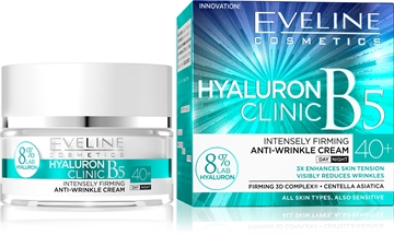 Eveline Hyaluron Clinic Day And Night Cream 40+ 50ml
